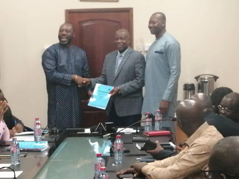 WACWISA Signs Performance and Financing Agreement under The World Bank ACE Impact Project