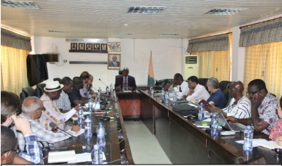 WACWISA and Mohammed Vi Polytechnic University (UM6P) Hold Discussions on Possible Collaboration