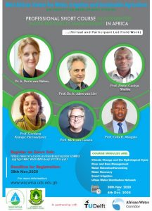 PROFESSIONAL SHORT COURSE IN INTEGRATED WATER RESOURCES MANAGEMENT IN AFRICA