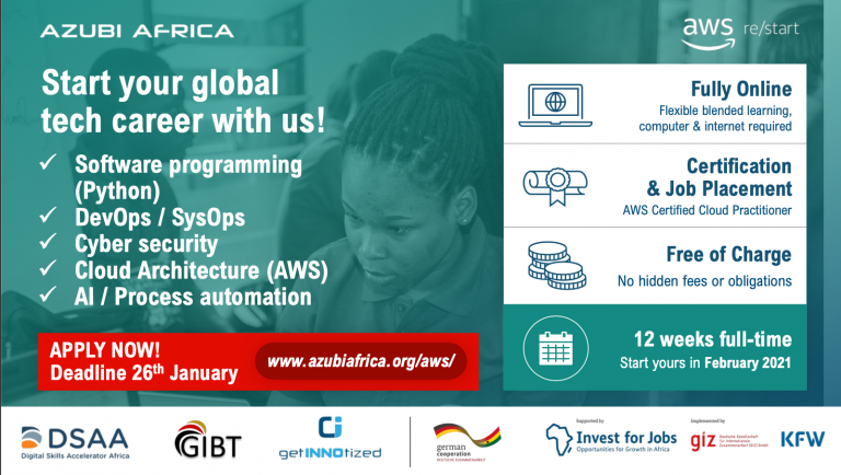 Opportunity to join the Azubia Africa Team