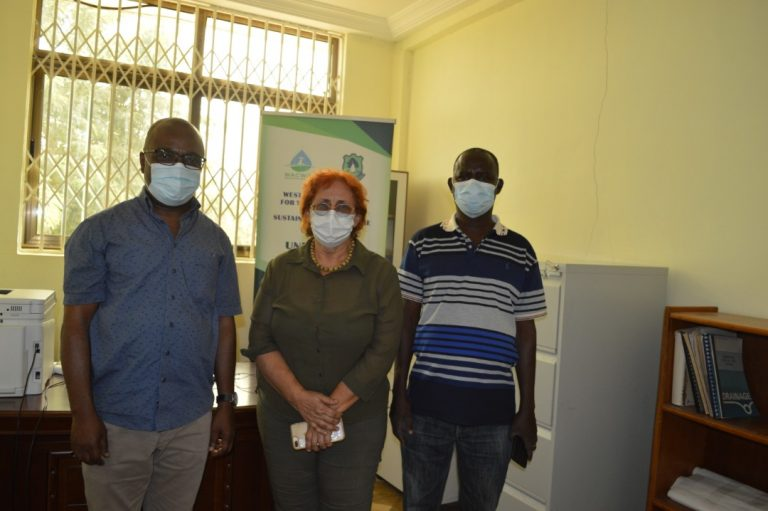 VISIT BY THE DEPUTY DIRECTOR AND DIRECTOR OF FINANCE OF THE REGIONAL CENTRE FOR ENERGY AND ENVIRONMENTAL SUSTAINABILITY